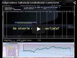 Knjigovodstvo: Kalkulisanje u petoj brzini - Lidder