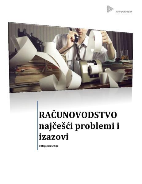 Izvestaj o problemima racunovodstvenih agencija