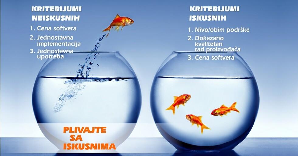 plivajte sa iskusnima