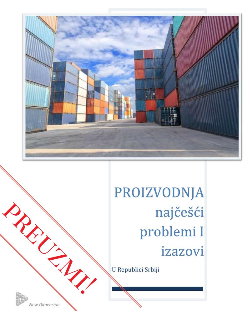 Najčešći problemi i zazovi u proizvodnji